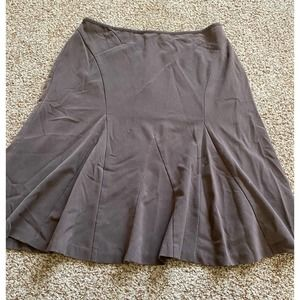 Requirements women 12 brown flare skirt